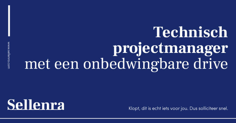 SELL vacature technprojectmng 2